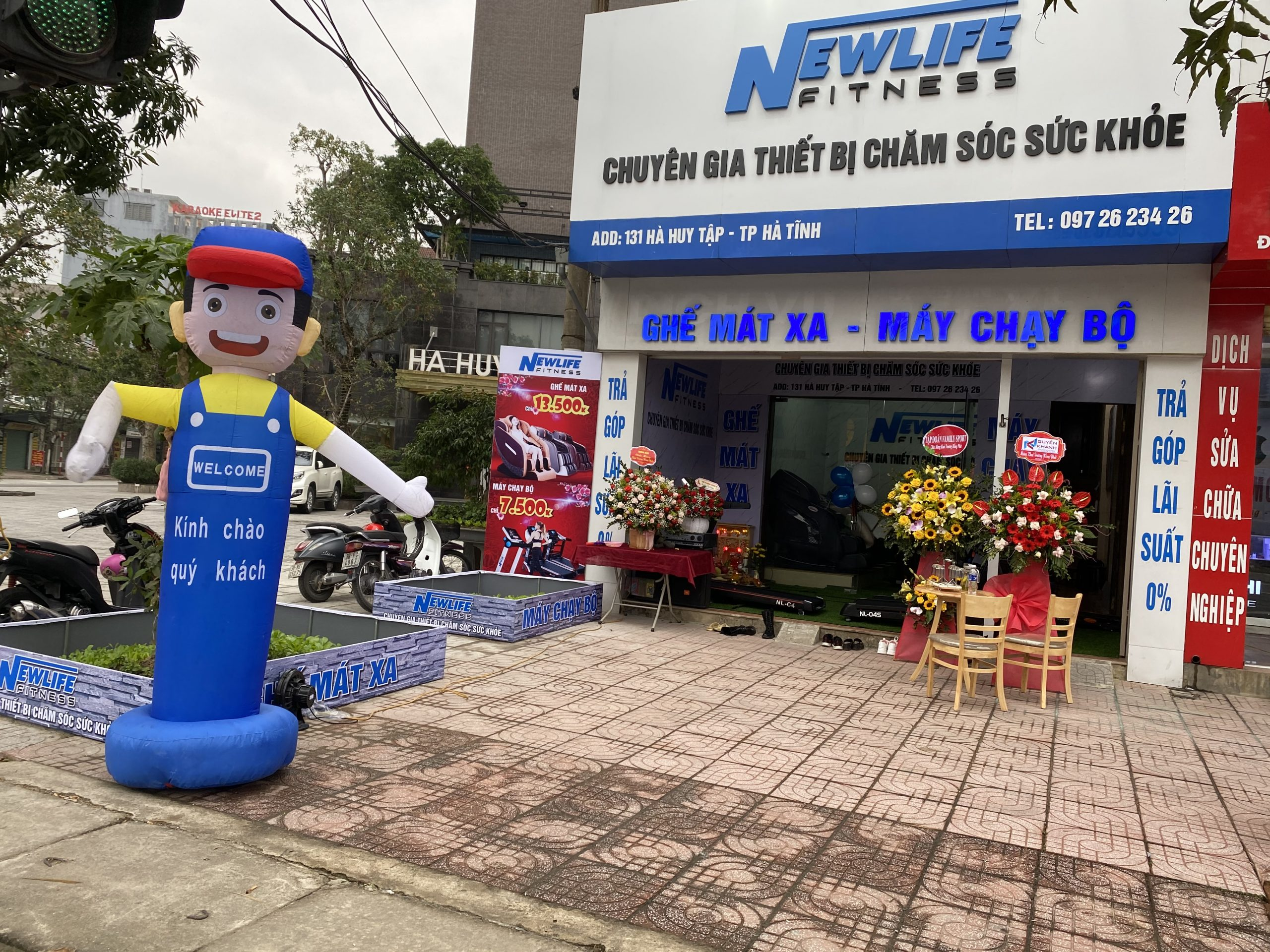 Mua ghế massage giá rẻ Hà Tĩnh