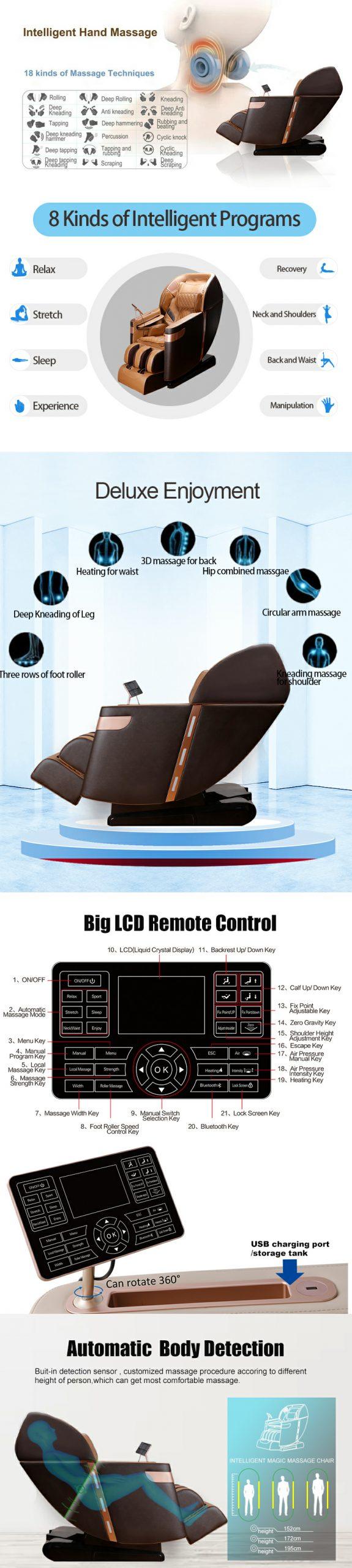 Ghế massage thông minh cao cấp Sumi L30
