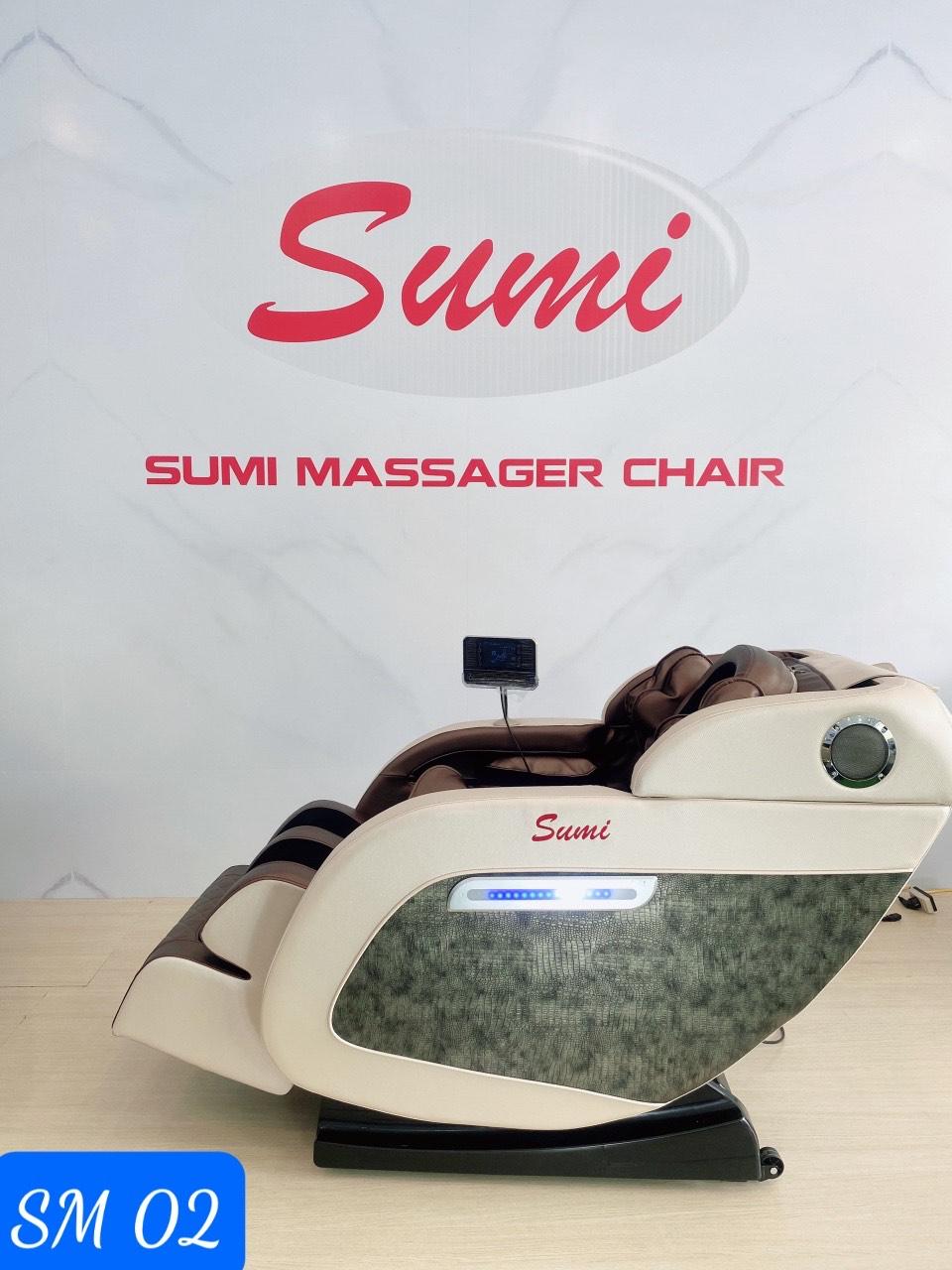 SM 02 Ghế mát xa toàn thân sang trọng