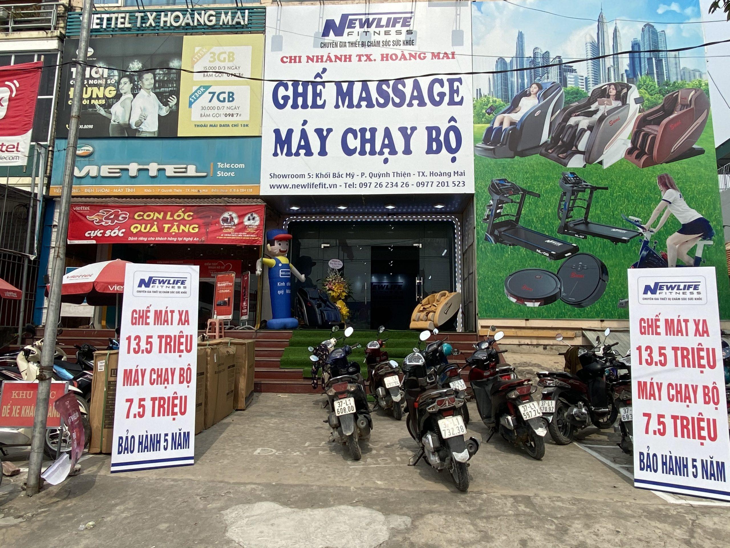 Mua ghế massage giá rẻ, uy tín nhất Thị Xã Hoàng Mai, Nghệ an